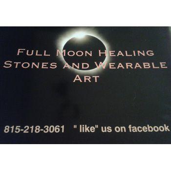 Full Moon Healing Stones and Wearable Art